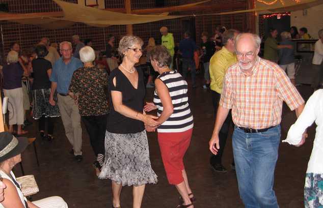Dansere på Fuglsangs Centeret